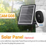 Escam G08 with solar panel ip camera